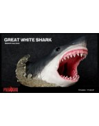 Predators Predatory Scale Statue Great White Shark 46 cm