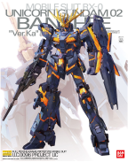 1/100 MG Unicorn Gundam 02 Banshee Ver .KA (model kit)
