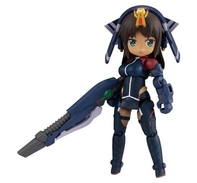 Alice Gear Aegis Desktop Army Action Figure Shitara Kaneshiya Tenki Version 14 cm