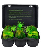 Alien Mini Figures Xenomorph Glow-in-the Dark Egg Set 6 cm