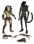 2-Pack Renegade Predator vs. Big Chap Alien 18 cm