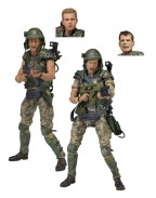 Aliens Action Figure 2-Pack 30th Anniversary Colonial Marines 18 cm