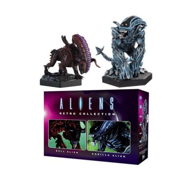 Aliens Retro Collection Figure 2-Pack Gorilla Alien & Bull Alien 13 cm