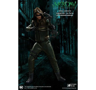Arrow Real Master Series Action Figure 1/8 Green Arrow 2.0 Normal Version 23 cm