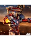 Avengers: Endgame BDS Art Scale Statue 1/10 Iron Patriot & Rocket 28 cm
