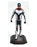 Avengers Endgame Marvel Movie Gallery PVC Statue Team Suit Captain America Exclusive 23 cm