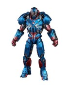 Avengers: Endgame Movie Masterpiece Series Diecast Action Figure 1/6 Iron Patriot 32 cm