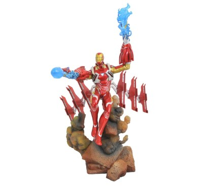 Avengers Infinity War Marvel Movie Gallery PVC Statue Iron Man MK50 23 cm