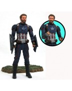 Avengers Infinity War Marvel Select Action Figure Captain America 18 cm