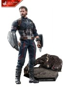 Avengers Infinity War Movie Masterpiece Action Figure 1/6 Captain America Movie Promo Edition 31 cm