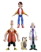 Back to the Future Toony Classics Action Figures 15 cm Serie 1 (Set 3 figurine)