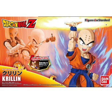Bandai Model Kit, Figure Rise Standard Krillin 15 cm