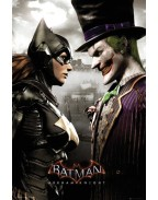 Batman Arkham Knight Poster Batgirl and Joker 61 x 91
