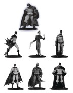 Batman Black & White PVC Minifigure 7-Pack Box Set 3  10 cm