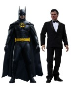 Batman Returns Movie Masterpiece Action Figure 2-Pack 1/6 Batman & Bruce Wayne 32 cm