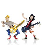 Bill & Ted's Excellent Adventure Toony Classics Action Figure 2-Pack Bill & Ted 15 cm