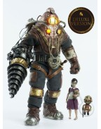 BioShock Action Figure 2-Pack 1/6 Subject Delta & Little Sister Deluxe Version 33 cm