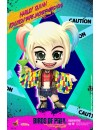 Birds of Prey Cosbaby Mini Figure Harley Quinn (Caution Tape Jacket Version) 11 cm