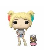 Birds of Prey POP! & Buddy Vinyl Figure Harley Quinn & Beaver 10 cm