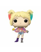 Birds of Prey POP! Heroes Vinyl Figure Harley Quinn (Caution Tape) 10 cm