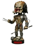 Predator Head Knocker Bobble-Head Predator with Spear 23 cm