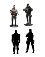 Call of Duty Action Figures 18 cm Assortment