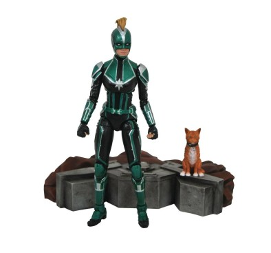 Captain Marvel Marvel Select Action Figure Captain Marvel Starforce Uniform 18 cm