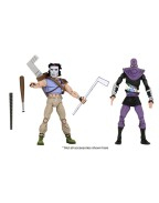 Casey Jones and Foot Action Figure 2-Pack TMNT Cartoon Version (S3)