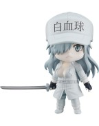 Cells at Work! Code Black Nendoroid Action Figure White Blood Cell Neutrophil 1196 10 cm
