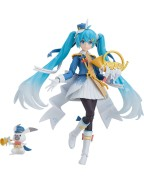 Character Vocal Series 01: Hatsune Miku Figma Action Figure Snow Miku Snow Parade Ver. 13 cm