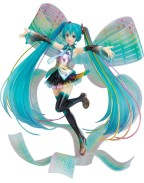 Character Vocal Series 01 Statue 1/8 Hatsune Miku 10th Anniversary Ver. Memorial Box 27 cm