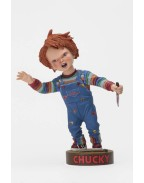 Child´s Play Head Knocker Bobble-Head Chucky with Knife 18 cm
