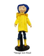 Coraline Articulated Figure Coraline in Raincoat 18 cm