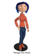 Coraline Articulated Figure Coraline in Striped Shirt and Jeans 18 cm