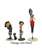 Coraline PVC Figures 4-Pack Best Of 3-14 cm
