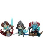 Court of the Dead Court Statues Kier, Relic Ravlatch, & Malavestros: Court-Toons Collectible Set