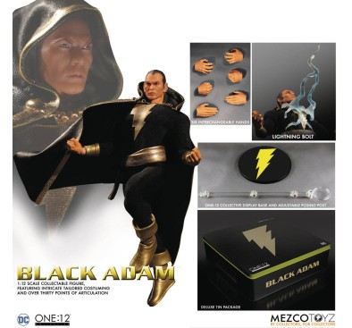 DC Comics Action Figure 1/12 Black Adam Previews Exclusive 15 cm