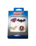 DC Comics Collectors Pins 4-Pack Justice League