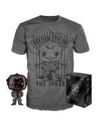 DC Comics POP! & Tee Box The Joker Exclusive