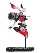 DC Comics Red, White & Black Statue Harley Quinn by Babs Tarr SDCC 2017 18 cm