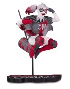 DC Comics Red, White & Black Statue Harley Quinn by Guillem March 18 cm