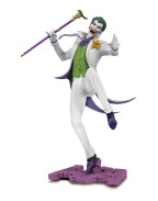 DC Core PVC Statue The Joker White Variant  EU Exclusive 28 cm