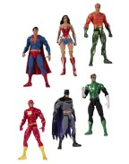 DC Essentials Action Figure 6-Pack Justice League 18 cm