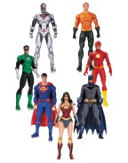 DC Rebirth Justice League Action Figure 7-Pack 18 cm