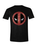 Deadpool - Foil Logo Men T-Shirt - Black, Size S, XXL