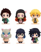 Demon Slayer: Kimetsu no Yaiba Pocket Maquette Mini Figures 6-Pack 5 cm