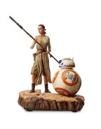 Disney Exclusive Rey and BB-8 Limited Edition Figure - Star Wars: The Force Awakens