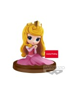 Disney Q Posket Petit Mini Figure Princess Aurora 4 cm