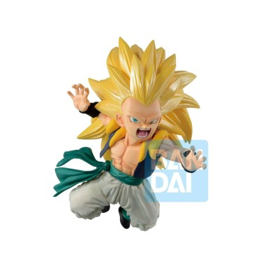 Dragon Ball Super Ichibansho PVC Statue Super Saiyan 3 Gotenks Rising Fighters 11 cm