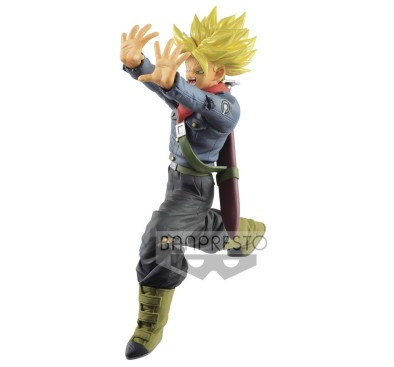 Dragon Ball Super PVC Statue Super Saiyan Trunks Future Galick Gun 17 cm